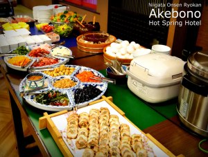 Akebono Hotsprings Breakfast