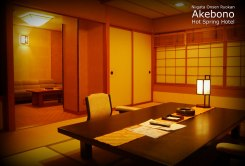 Suite Room at the Akebono Hot Spring Hotel