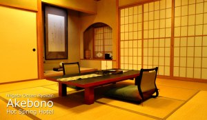 Traditional Japanese Ryokan Style Rooms